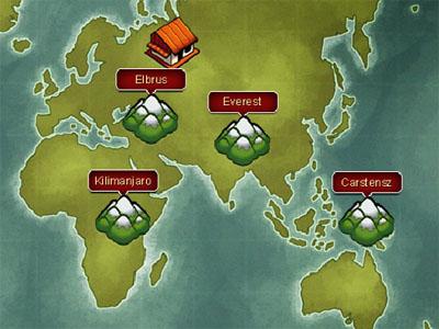 7 Summits online hra