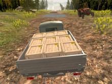 Russian Offroad Pickup Drive juego en línea