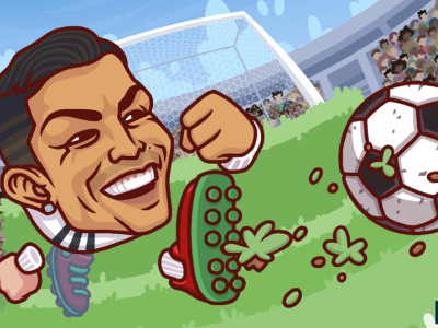Heads Arena: Soccer All Stars online game