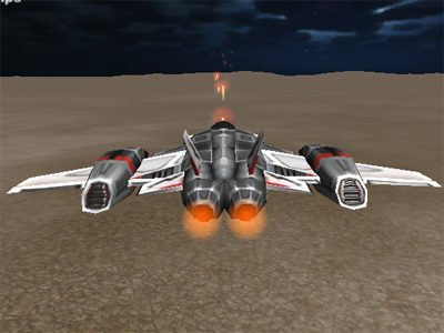Alien Sky Invasion online game