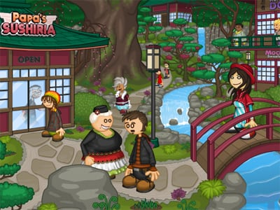 Papa's Sushiria online hra
