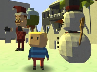 Kogama: Hello Neighbor Christmas Edition! online game