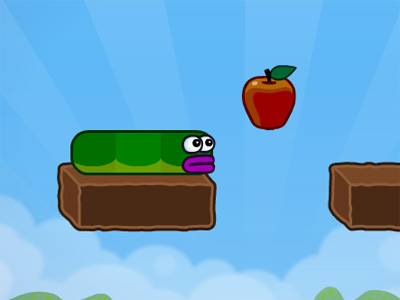 Apple Worm online game