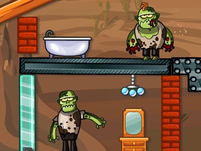 Zombie Demolisher 4 online game