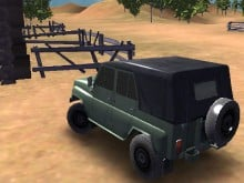 Russian UAZ Offroad Driving 3D online game