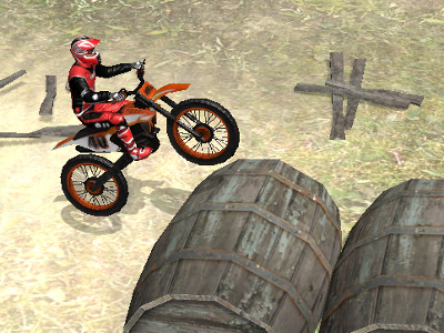 Moto Trials Beach online hra