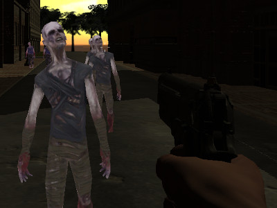 Rise of the Zombies online hra