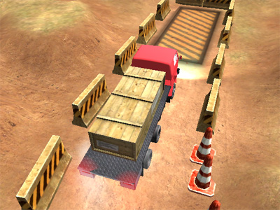Heavy Truck Parking online game