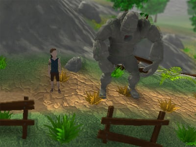 The Boy and the Golem online game