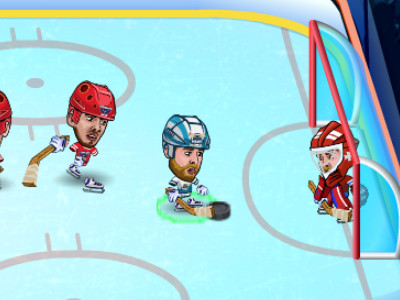 Hockey Legends online hra