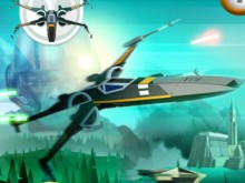 X-wing Fighter online hra