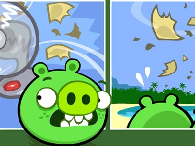 Bad Piggies Online 2018 online hra