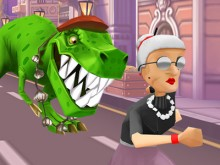 Angry Gran Run Paris online hra