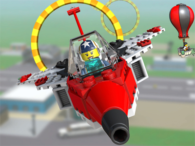 Lego City: Airport oнлайн-игра