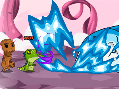 Awesome Happy Monster online game