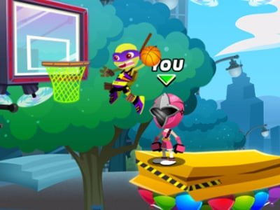 Nick Basketball Stars 2 online hra