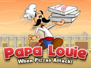 Papa Louie: When Pizzas Attack online hra