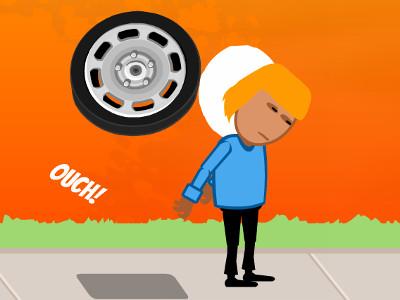 Rubber Rage – Brutal Pat online hra
