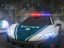 Dubai Police Supercar Rally online hra