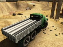 Truck Driver Crazy Road 2 online game