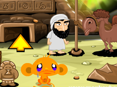 Monkey Go Happy Pyramid Escape online game