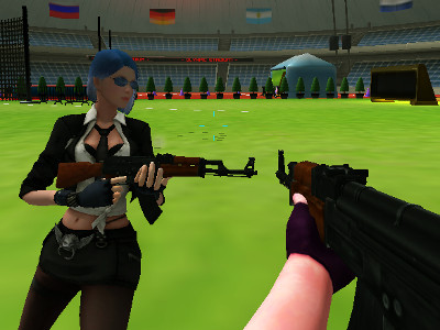 Lady Shooters online game