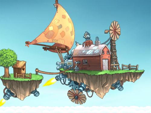 The Flying Farm online game