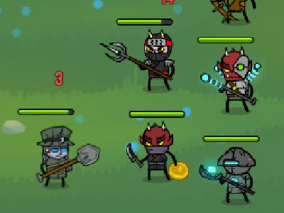 Loot Heroes: Clicker online game