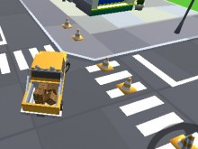 Cargo Carrier: Low Poly online game