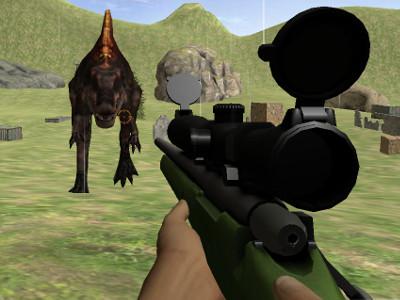 Jurassic Sniper online hra