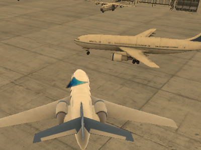 Airplane Parking online hra