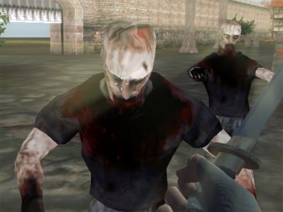 Zombies vs Berserk online game