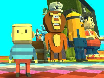 Kogama: MultiColor Parkour online game