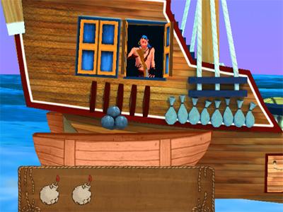 Top Shootout: The Pirate Ship juego en línea