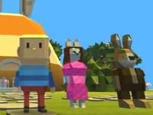 Kogama:  Egghunt In Bunnyville online game