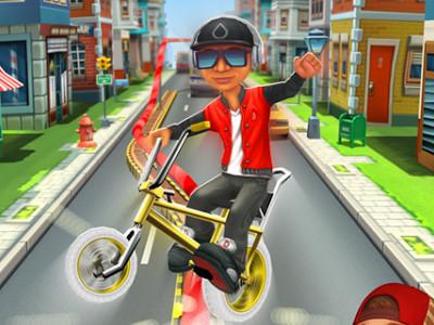 Bike Blast online hra