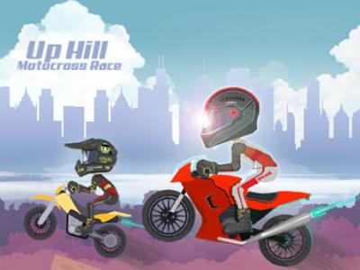 Uphill Motocross Race online hra