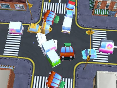 Traffic Chaos online hra