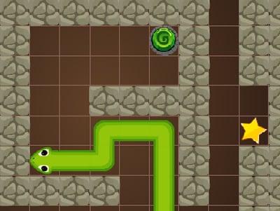Snake Cave Escape online hra