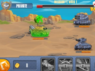 Tanks Squad online game