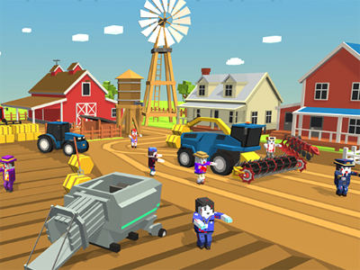 Zombie Harvester Rush online game