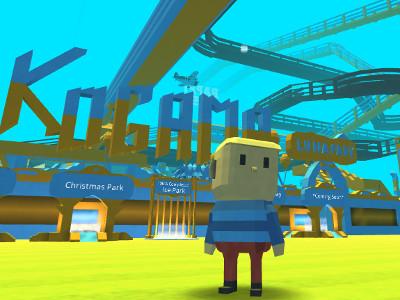 Kogama: Luna Park online game
