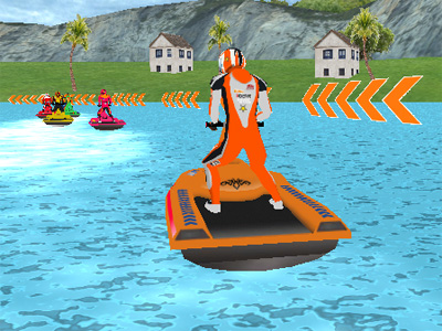 Water Scooter Mania oнлайн-игра
