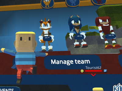 Kogama: Sonic Dash 2 online game