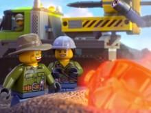 Lego Volcano Interactive online game