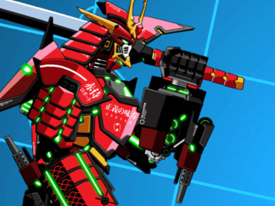 Battle Robot Samurai Age online game