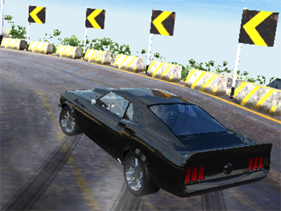Burnout Drift: Hilltop online game