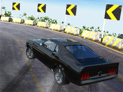 Burnout Drift: Hilltop online hra