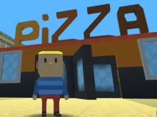 Kogama: Work at a Pizza Place online game
