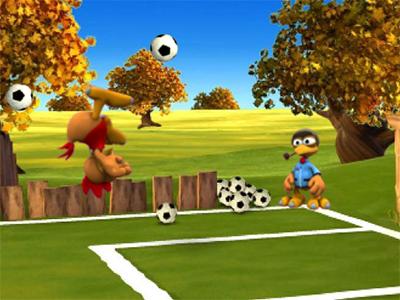 Moorhuhn Soccer online hra
